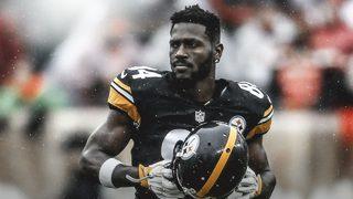 Steelers WR Antonio Brown tweets goodbye to Pittsburgh