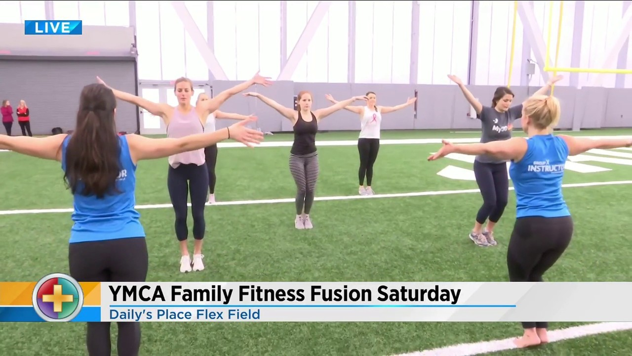 Get ready to exercise this weekend at YMCA's Family Fitness Fusion