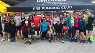 Test run: Runners preview crossing Hart Bridge