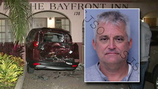 St. Augustine police say DUI driver hit 7 cars, pushed 1 into hotel