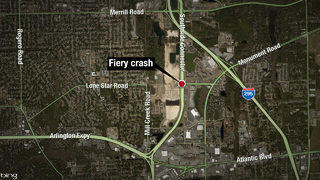 FHP: Teen killed in fiery single-vehicle crash&#x3b; 2 others injured