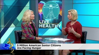Senior citizens are the fastest growing food-insecure population in the U.S.