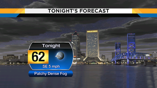 Mild, warm night ahead before fog returns Saturday morning