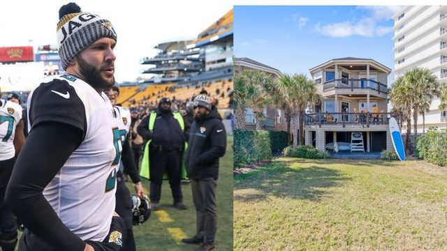 Blake Bortles' beach home drops $75,000 in price