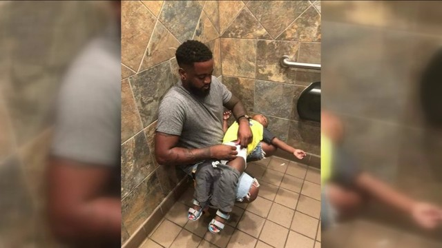 Changing tables coming to men's restrooms for new Pampers campaign