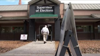 Last day of early voting in Jacksonville slow