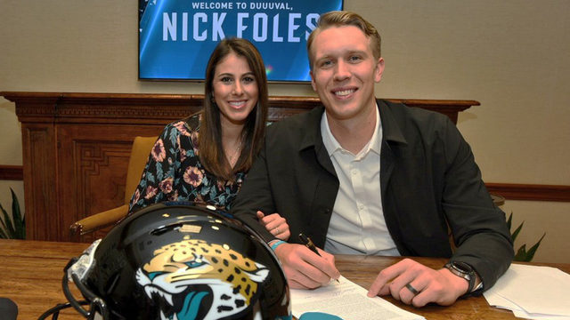 Jaguars' new quarterback opens up about family and faith