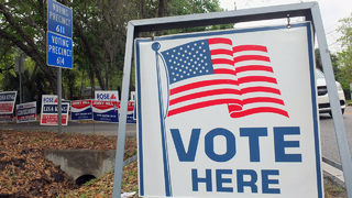 Polls open, no lines expected in Jacksonville election