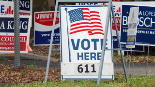 With polls about to close, nearly 24% turnout in Jacksonville election