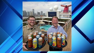 Carnival Cruise Line teams up with Florida brewery