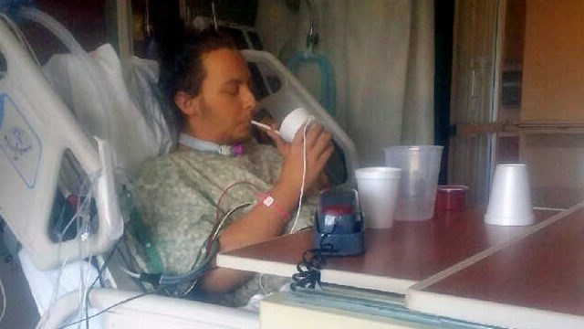 Family hopeful as motorcyclist run over by 2 cars makes remarkable recovery