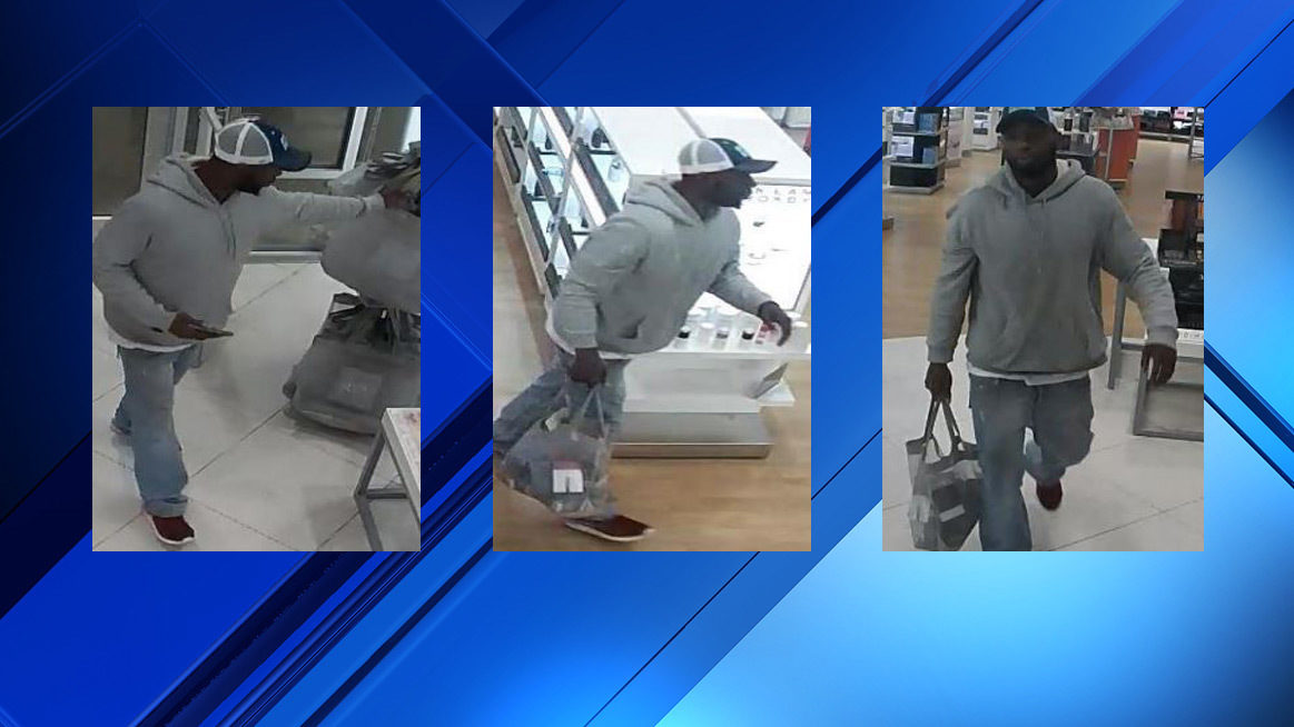 Police search for man accused of stealing cologne from Ulta Beauty