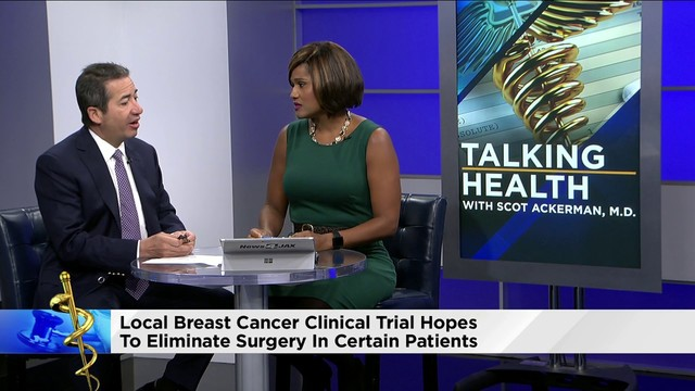 Treatment without surgery gives breast cancer patients hope