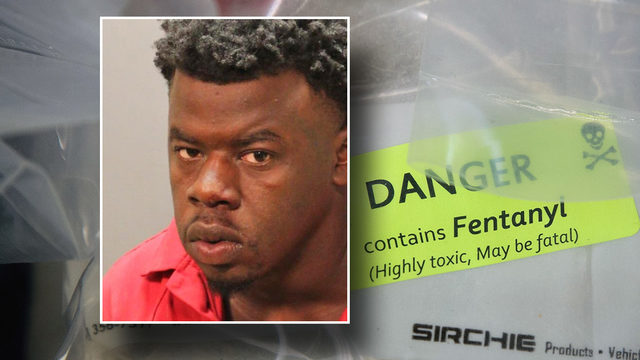 Jacksonville man charged with murder in fentanyl death