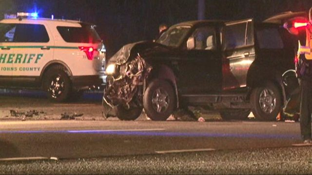 Deadly crash closes lanes of U.S. 1 at Datil Pepper Road
