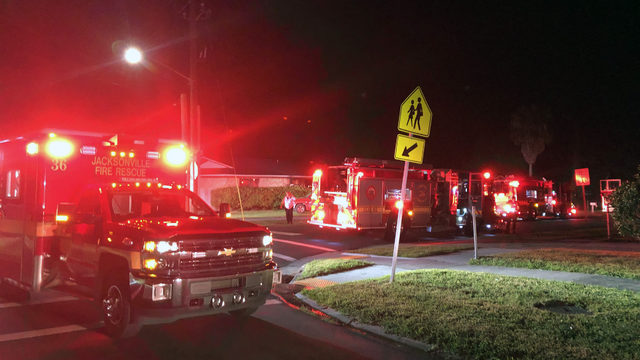 3 rescued from overnight house fire in Sherwood Forest