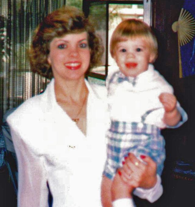 Bonnie Haim and son