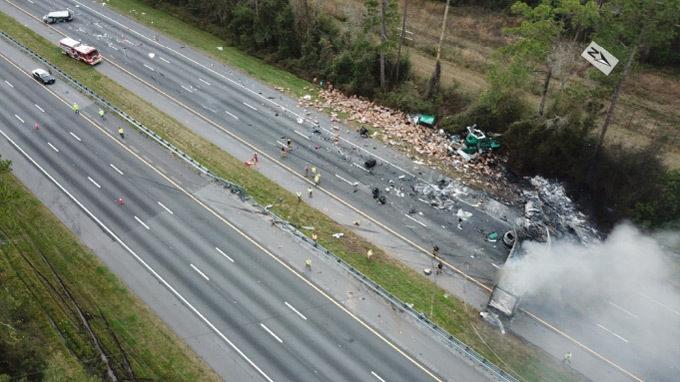 1st NTSB report on I-75 crash that killed 7 gives details, no