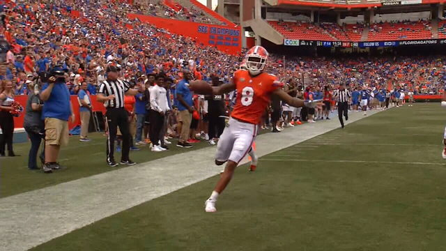 Grimes, Orange team light up scoreboard in Gators Spring game