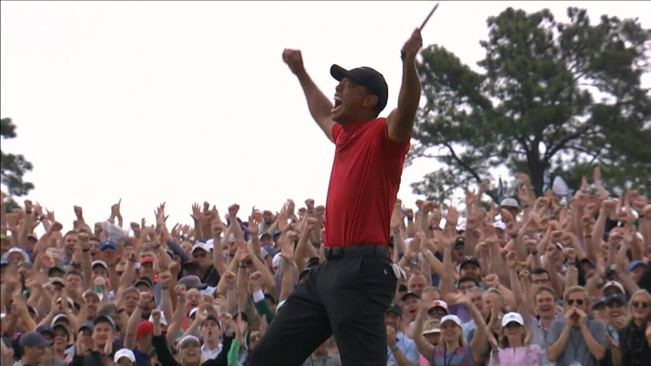Tiger Woods Wins Masters For Fifth Time