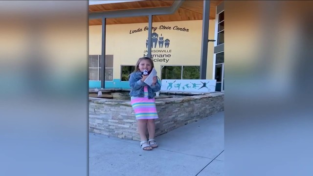 Girl asks for donations to Humane Society instead of birthday gifts