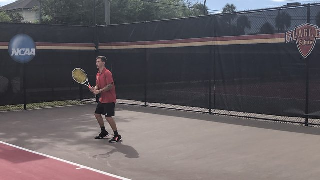 Flagler College men's tennis team has its sights set on national title