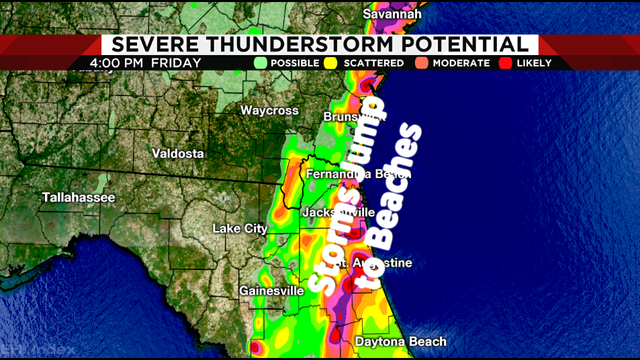 2-3 hours of potential threat Friday prompts Weather Authority Alert