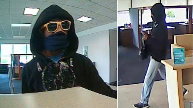 Neptune Beach police search for bank robber
