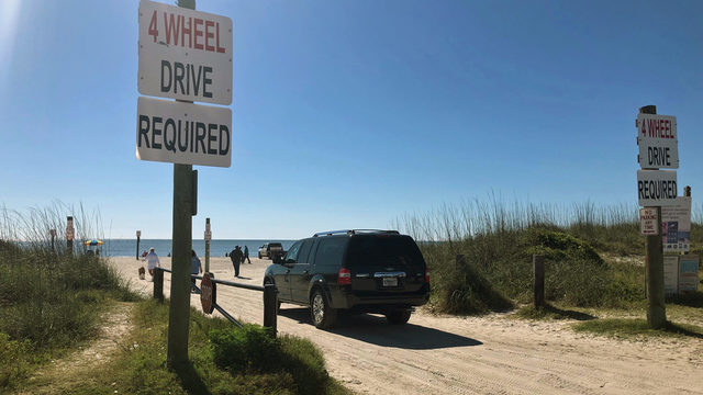 Battle lines drawn in sand over beach driving in Fernandina