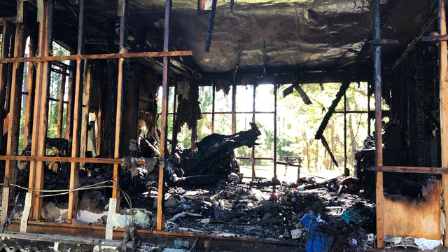 Yulee family grateful to be alive despite losing home to fire