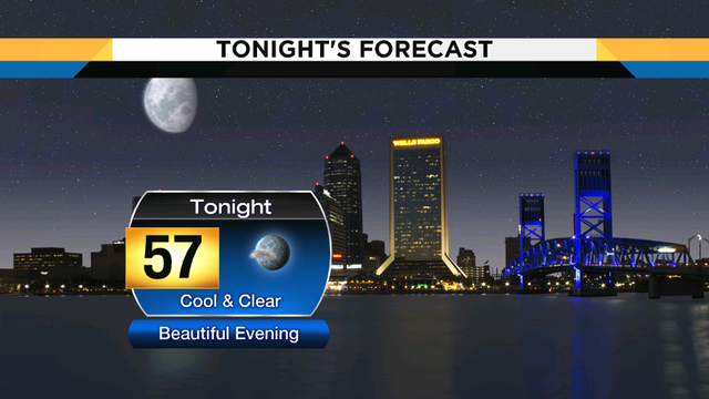 Turning cool tonight, warmer weather on the way this week