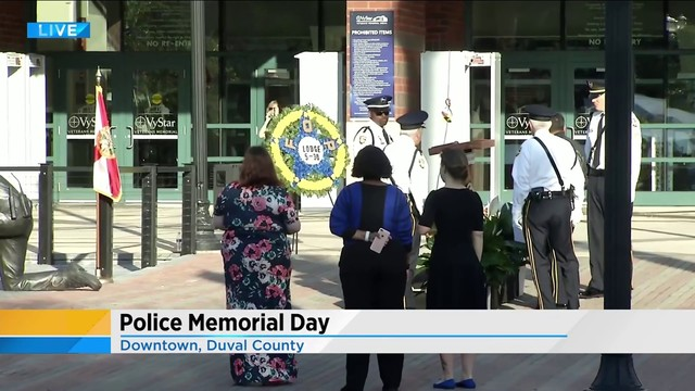 Community invited to JSO's Police Memorial Day Observance