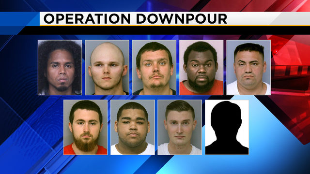 9 men arrested in undercover child sex sting