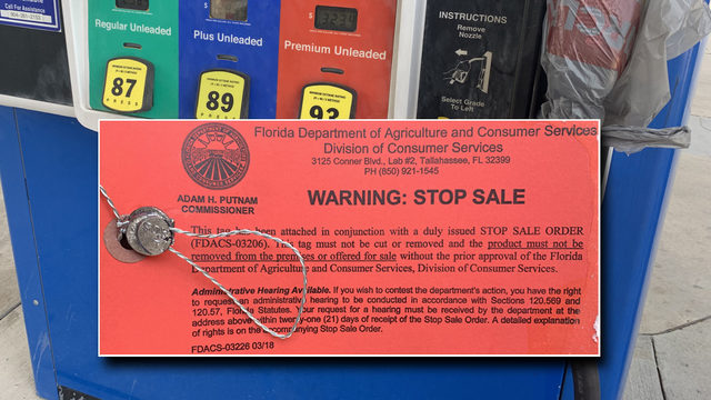 State issues stop on sale of certain fuel at Fernandina Beach gas station