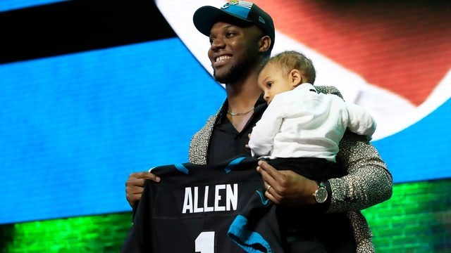 Jaguars pick pass rusher Josh Allen in the first round of NFL draft