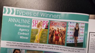 Miami Fashion Board brochure