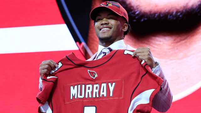 Cardinals select Oklahoma QB Kyler Murray with No. 1 draft pick