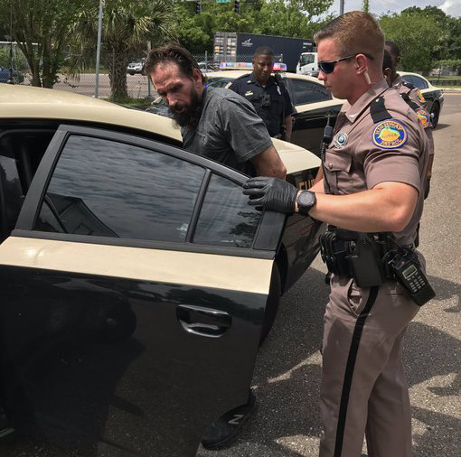 FHP photo of arrest