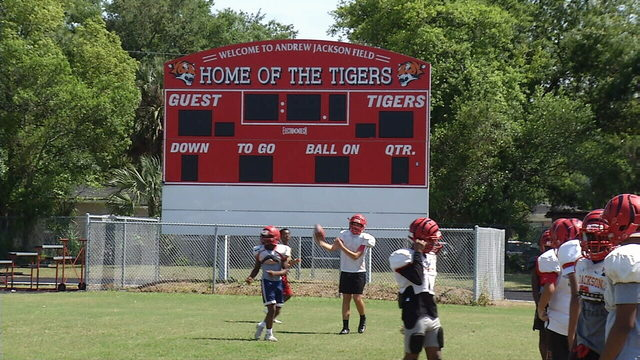 Spring swing football: Jackson moves past heartbreaking end to last season