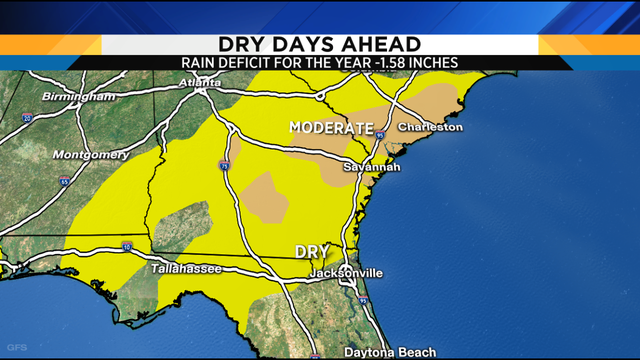 Drought targets Florida & Georgia