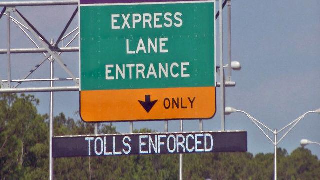 Express lanes on I-295 between I-95, Buckman Bridge opens