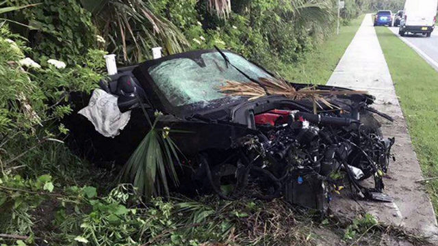 1 killed, 1 injured in Ferrari crash in Ponte Vedra Beach