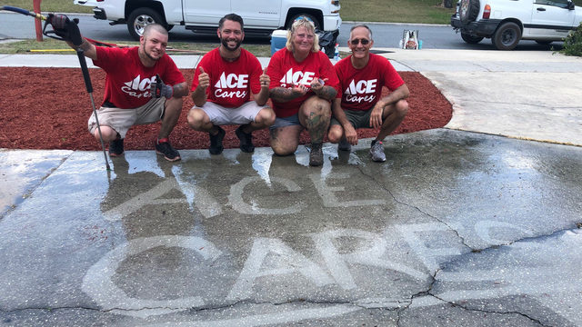 Pay It 4ward: Ace Hardware delivers yard makeovers to deserving families
