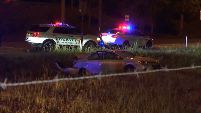 Deputies: Woman sought after pursuit of stolen vehicle, patrol car rammed
