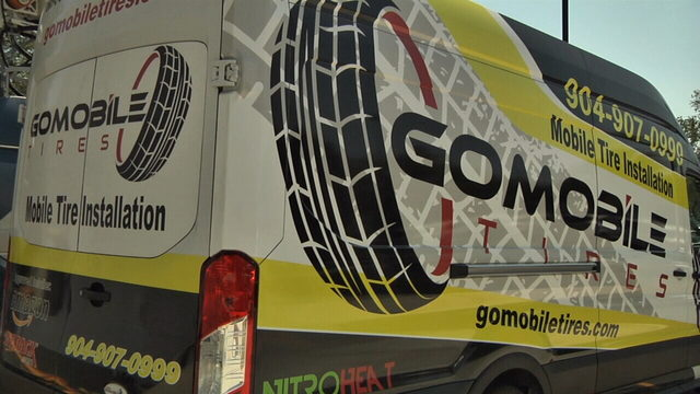 Jacksonville's only mobile tire shop offering free tire checks