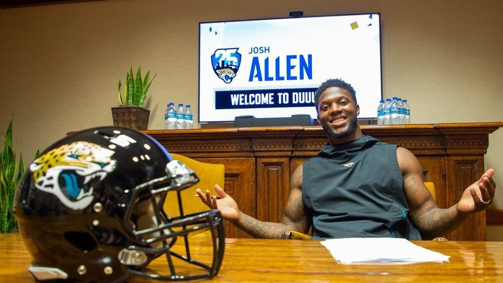First-round pick Josh Allen signs contract with Jaguars