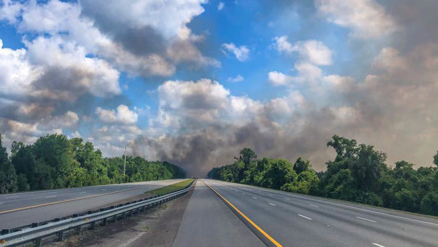 BP gas station on U.S. 17 in Yulee running dry amid wildfire