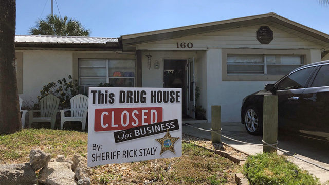 Flager County Sheriff's Office : Drug house closed for business