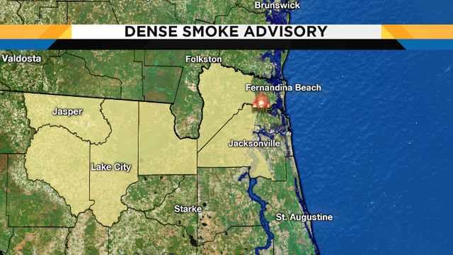Dense Smoke Advisory through 10 a.m.