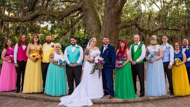 Magical: Florida couple has Disney-themed wedding